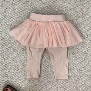 GAP Bottoms - Baby Gap leggings with attached tutu